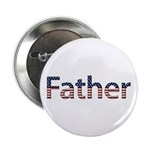 Father Stars and Stripes Button