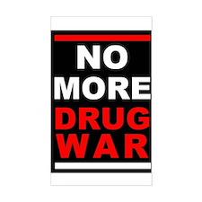 """""""No More Drug War"""" Decal"""