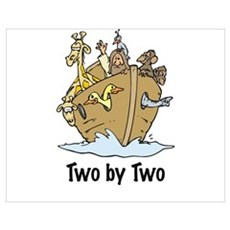 two by two Poster