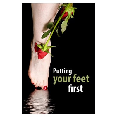 Your feet Poster