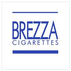 BREZZA Cigarettes Canvas Art