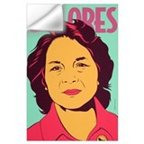 Dolores huerta Wall Decals