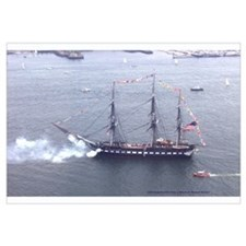 Old Ironsides Salutes Boston