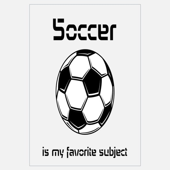 Soccer is my favorite subject