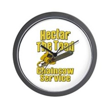 Hectar The Toad Chainsaw Service Wall Clock