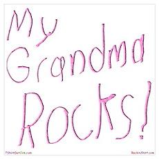 My Grandma Rocks ! Poster