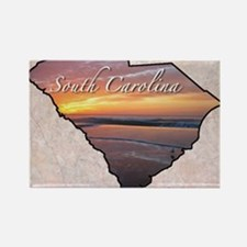 Cute Carolina duke or state Rectangle Magnet