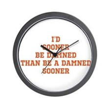 Funny Texas longhorns Wall Clock