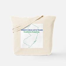 Jersey Girls - BLUE Tote Bag