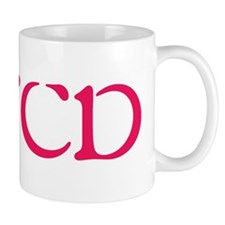 CMCD Pink Freeform Mug