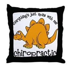 Spine With Me Throw Pillow
