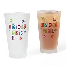 Happy Bridesmaids Drinking Glass