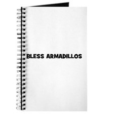 Bless Armadillos Journal