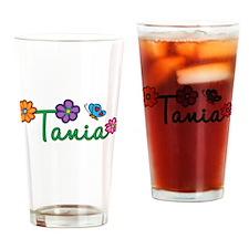 Tania Flowers Drinking Glass