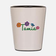 Tamia Flowers Shot Glass