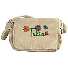 Talia Flowers Messenger Bag