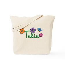 Talia Flowers Tote Bag