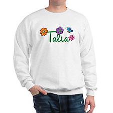 Talia Flowers Sweatshirt