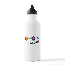 Talia Flowers Water Bottle
