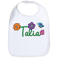 Talia Flowers Bib
