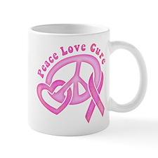 Peace Love Cure Mug