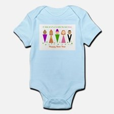 Jewish New Year Diversity Infant Bodysuit