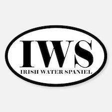 IWS Abbreviation Irish Water Spaniel Decal