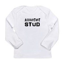Unique Funny accountant Long Sleeve Infant T-Shirt