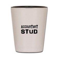 Cute Funny accounting Shot Glass