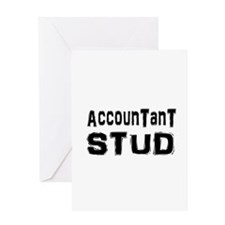 Cute Funny accounting Greeting Card