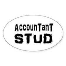 Cute Funny accounting Decal
