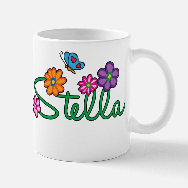 Stella Flowers Mug