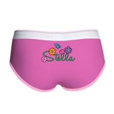 Stella Flowers Women's Boy Brief