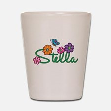 Stella Flowers Shot Glass