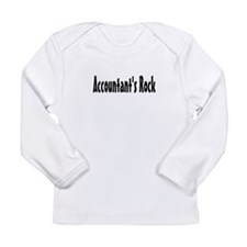 Cute Funny accountant Long Sleeve Infant T-Shirt