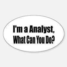 Cute Analyst Decal