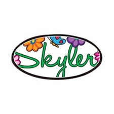 Skyler Flowers Patches