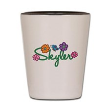 Skyler Flowers Shot Glass