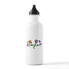 Skylar Flowers Water Bottle