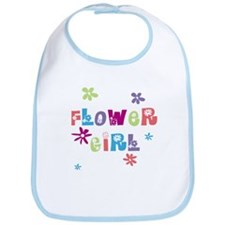 Happy Flowergirl Bib