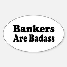 Cute Banker Decal