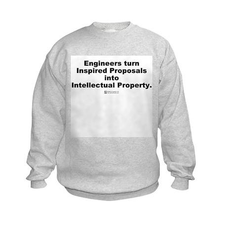 Intellectual Property - Kids Sweatshirt