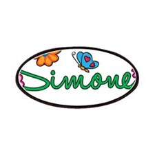Simone Flowers Patches