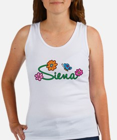 Siena Flowers Women's Tank Top