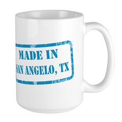 MADE IN SAN ANGELO, TX Large Mug