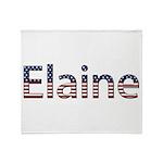 Elaine Stars and Stripes Throw Blanket