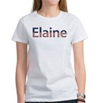 Elaine Stars and Stripes Women's T-Shirt