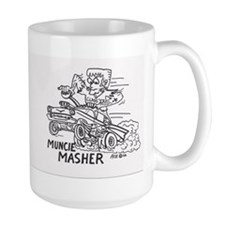 Lefty 57 Chevy  Dragster Ratrod Mug