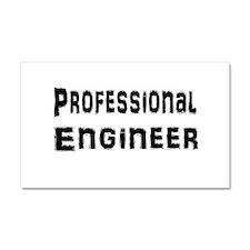 Unique Civil engineer Car Magnet 20 x 12