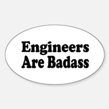 Funny Occupations Sticker (Oval)